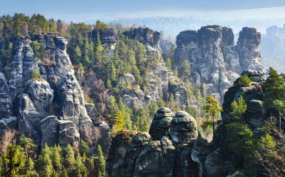 Elbsandsteingebirge in der Sächsischen Schweiz