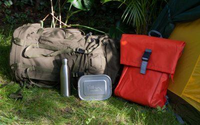 Urlaub als Backpacker mit Lunchbox
