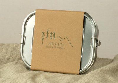 Edelstahl Bento Box mit Verpackung