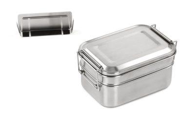 Runde Edelstahl Lunchbox – Größe XL