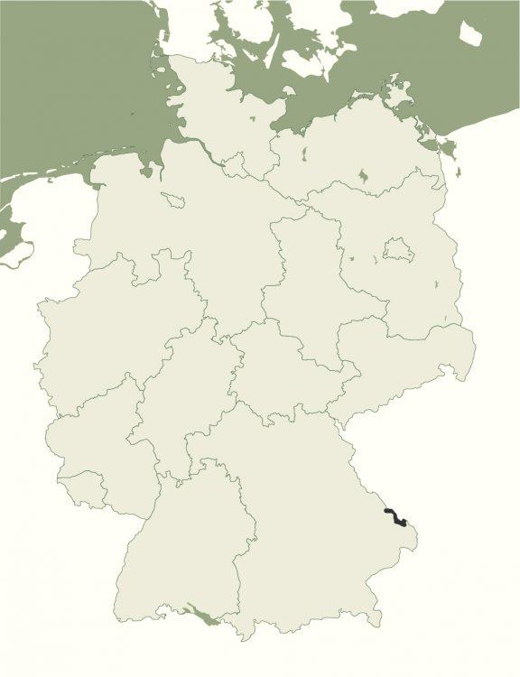 Nationalpark Bayerischer Wald - Lage in Deutschland
