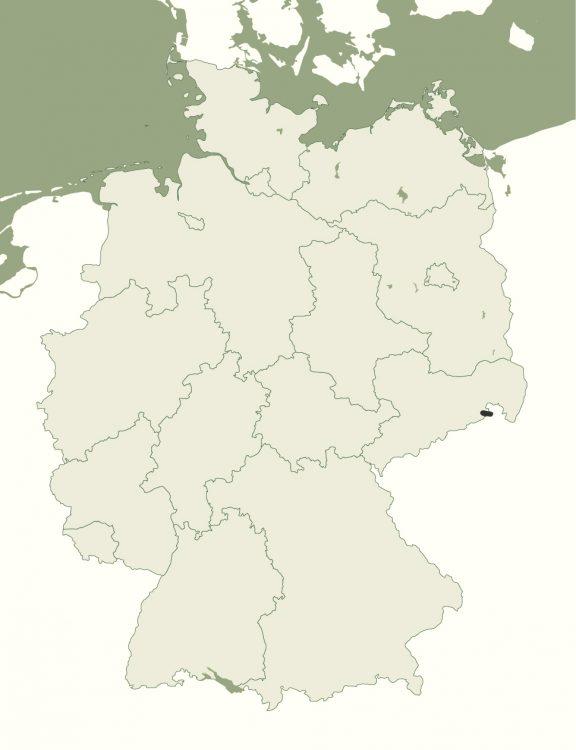 Nationalpark Sächsische Schweiz - Lage in Deutschland