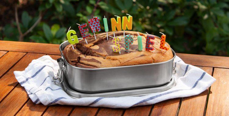 Kuchen in der Edelstahl Brotdose gebacken