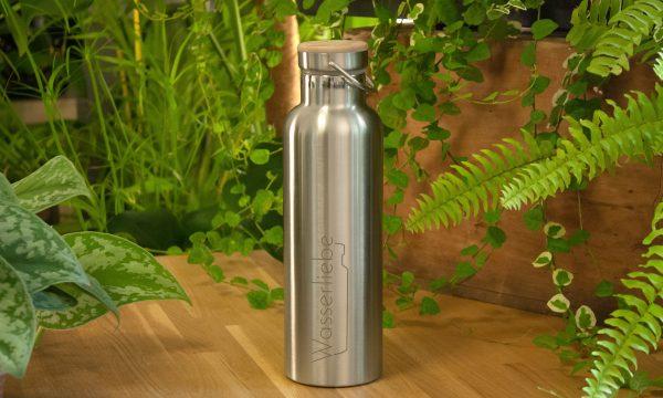 Edelstahl Thermoflasche 750 ml