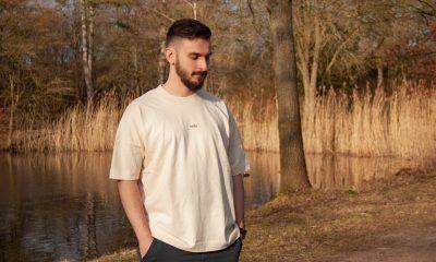 Nofu T-Shirt natural white in der Natur
