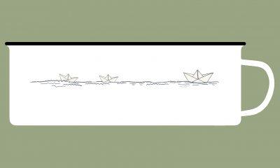 Papierschiffchen - Tassenvorschau